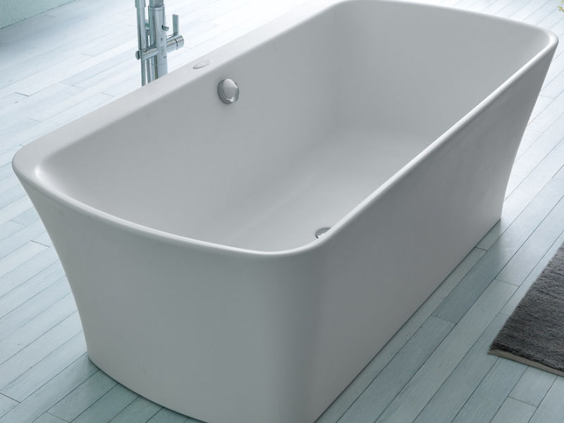 Bath tubs and bath tubs with massage systems