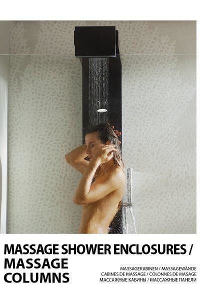 Massage shower enclosures / Massage columns 2019
