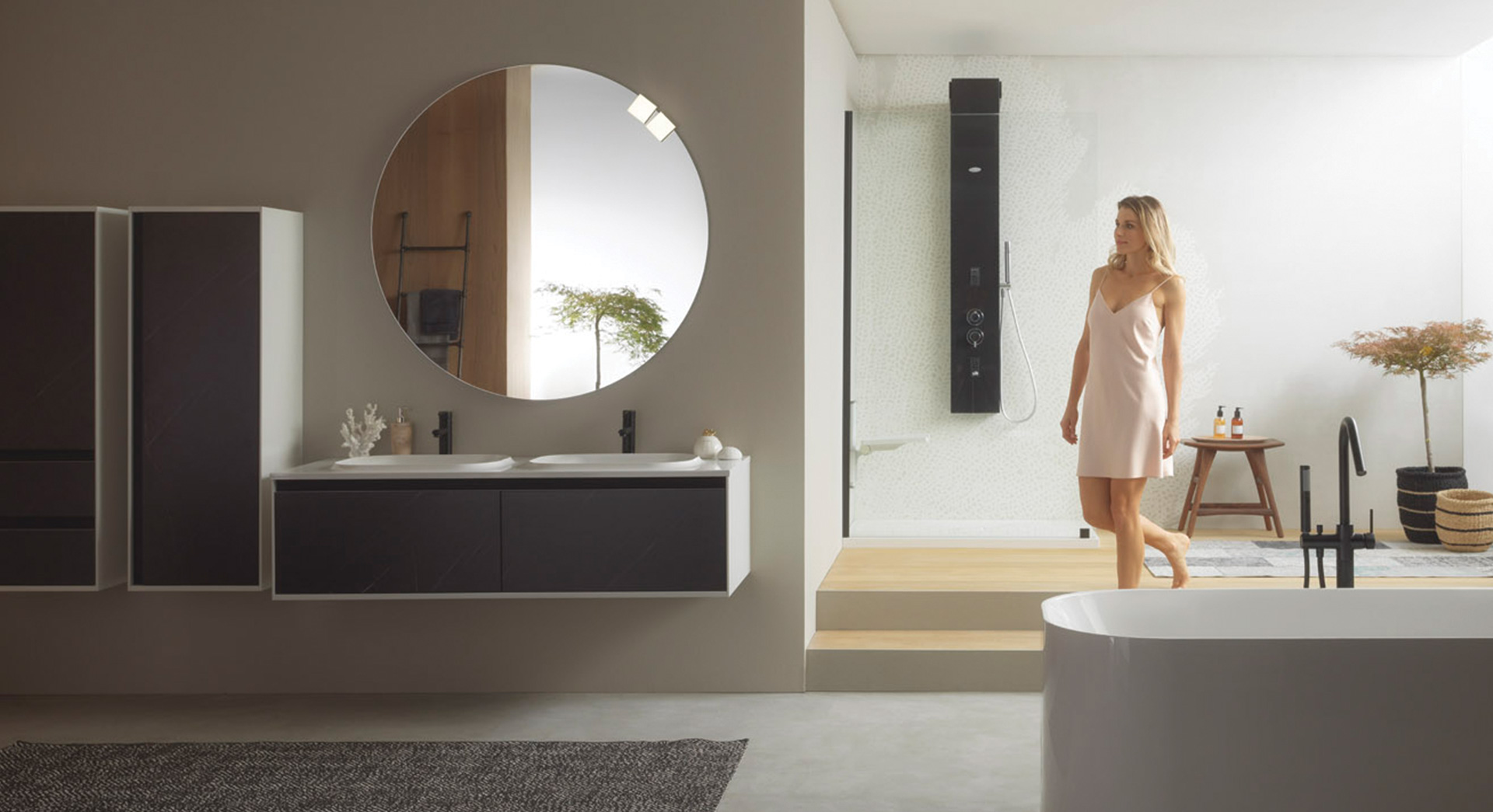 A new generation of bathroom furniture